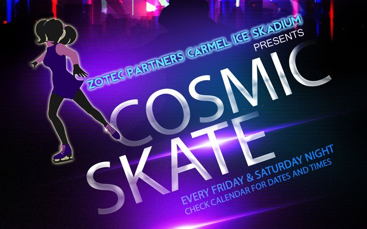 """Carmel Ice Skadium:   north of Indy; about an hour and a half from campus.     Public Skating most afternoons; Cosmic Skate most Friday & Saturday evenings.  A """"coffee skate"""" a few lunchtimes.  NOT on holiday weekends or Xmas break."""