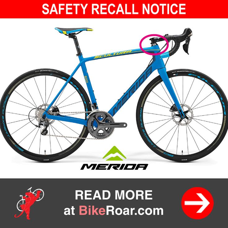 Merida recalls Scultura bikes, warns carbon forks may break.   SEE IF YOURS IS AFFECTED → http://roa.rs/2tYlhlH?utm_content=buffera581c&utm_medium=social&utm_source=pinterest.com&utm_campaign=buffer.   #merida #scultura #bicycle #carbon #fork #safety #recall #notice