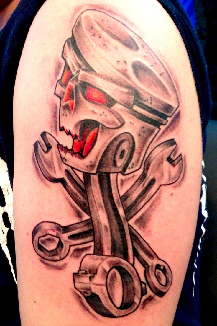 piston | tattoo | Pinterest | Tattoo and Html