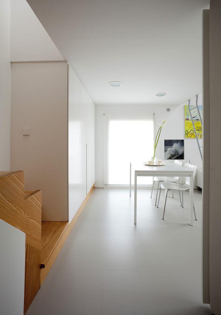 kleines Wohn / Raum kleines Schlafzimmer Innenarchitektur gemütlich flach Homesthetics 1