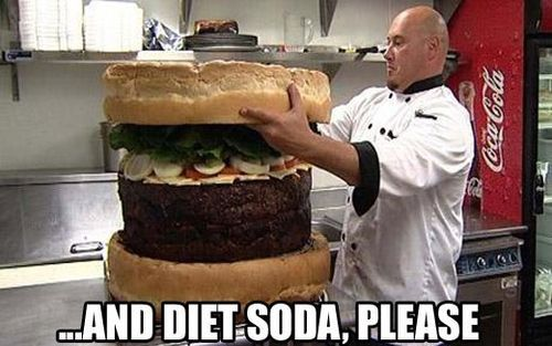 ... and diet soda, please.: Wall Photo, Weights, Funny Pictures, Diet Sodas, Burgers, Funny Stuff, Diet Coke, Crazy Funny, Big Mac