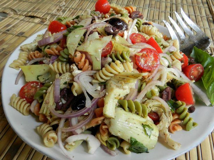 Rotini Pasta Salad Pasta Salad Recipes Pinterest