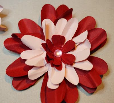 Paper Flowers for Cards, Scrapbooks, Decor and More