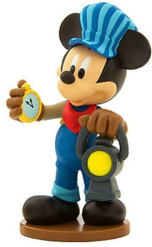 Mickey Mouse Disney Clubhouse Train Railroad Pvc Toy