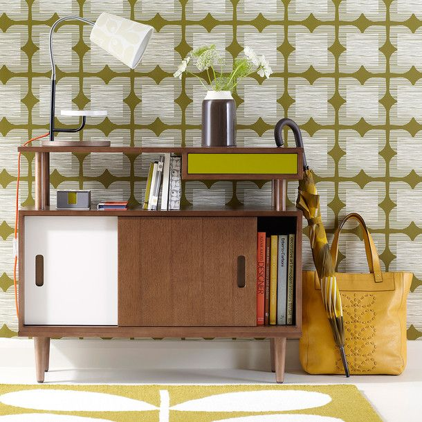 Love Orla Kiely designs. Console Table by Orla Kiely.