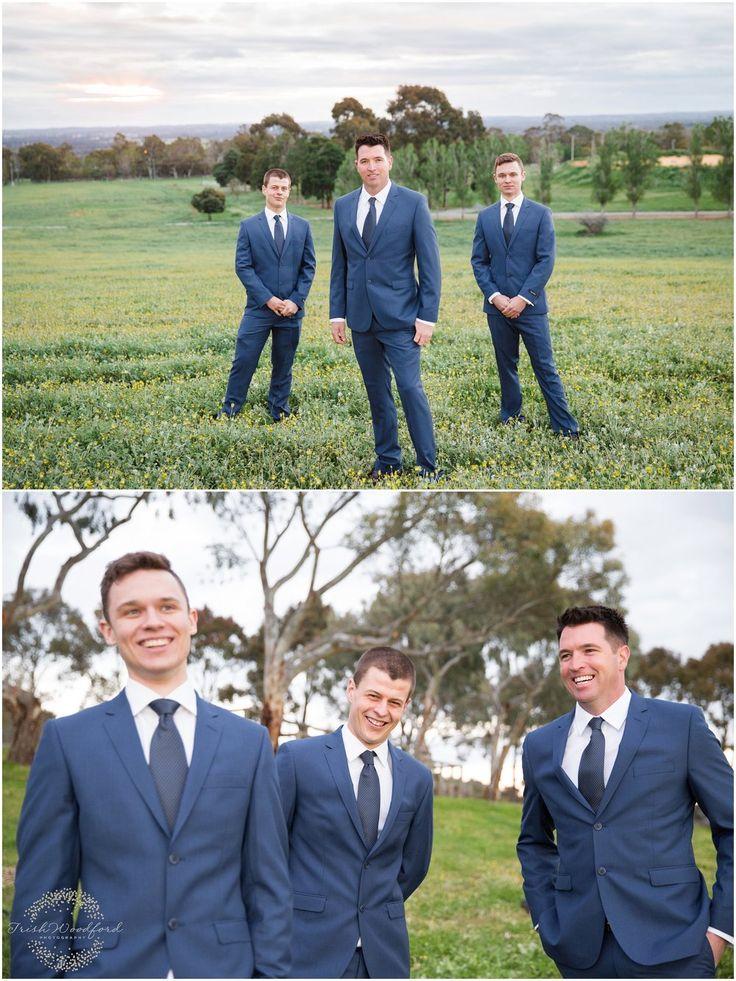 Boho Styled Wedding Shoot | Quarry Farm | Photography - Trish Woodford and Julie van Oosten | Suits - Ferrari Formal Wear | Models - Brad Smith, Kelvin Hall, Luke van Goor