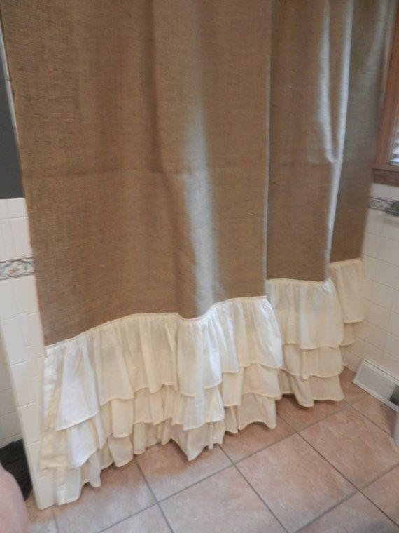 17 Best ideas about Ruffle Shower Curtains on Pinterest | Ruffled ...