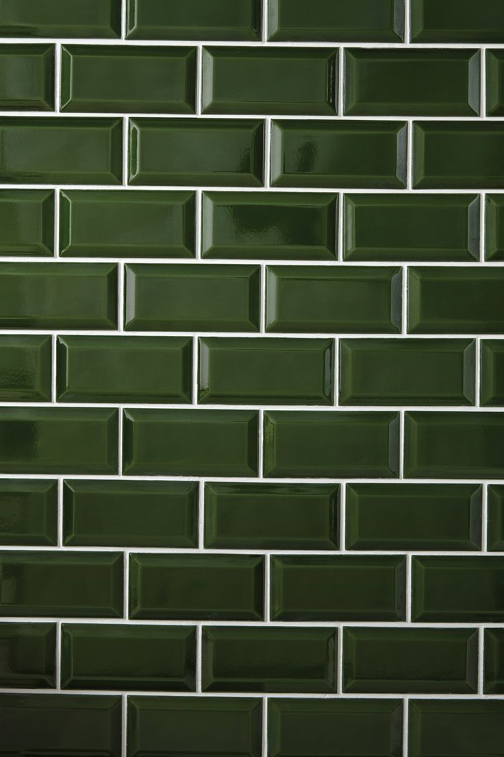 Heritage Bathrooms Bottle Green Art Deco Metro Wall Tiles Green Tile Bathroom Bathroom Design