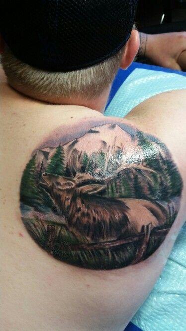 Elk Tattoos
