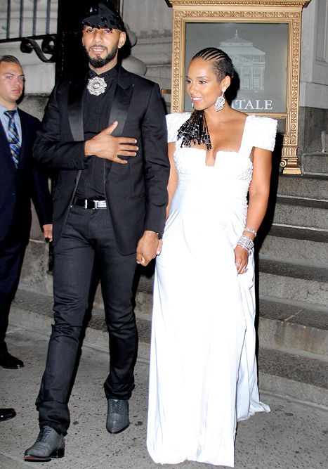 Alicia Keys' Stylist, Marc Bouwer in Feud Over Borrowed Dress - Us Weekly