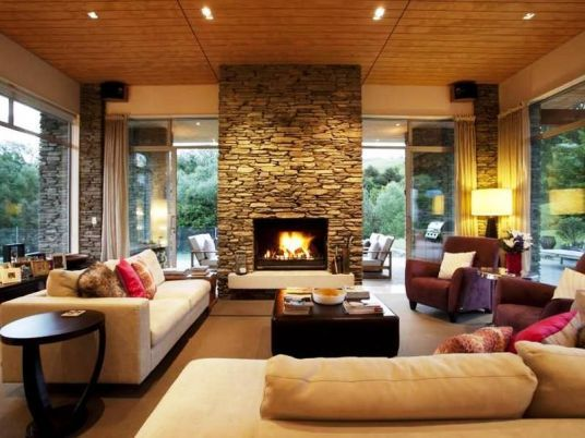 Central Otago Schist Features Inside And Out Luxury