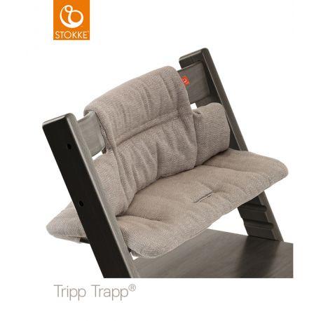 STOKKE Tripp Trapp® Sitzkissen 'hazy tweed'