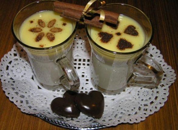 Horúca biela čokoláda