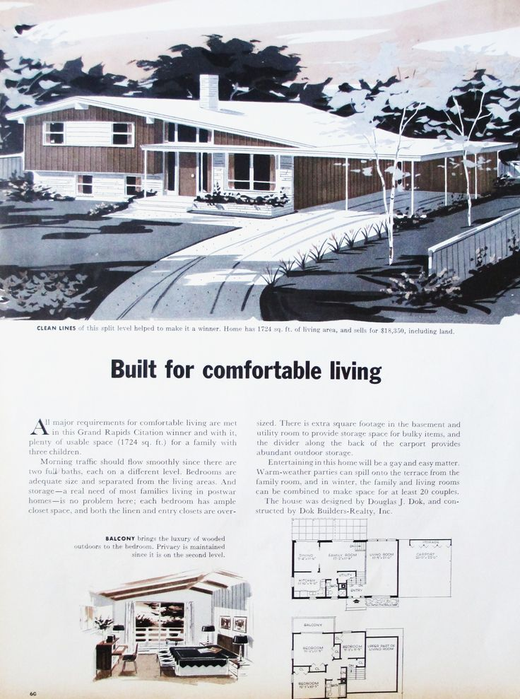 3666b356f40ed9b2e81c64401a9cc84d  S Mid Century Modern Split Level House Plans on