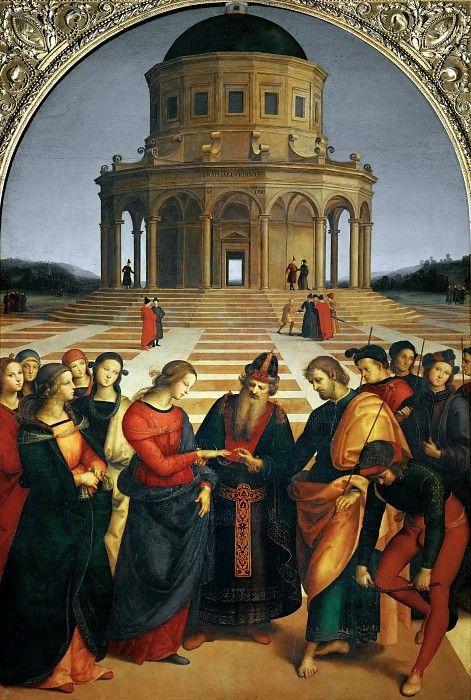 Обручение Девы Марии. Рафаэль Санти