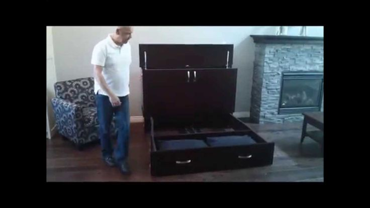 Cabinet Bed made by Cabinetbed www.cabinetbed.ca    Your Space Saving Sl...