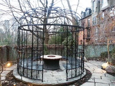 Custom Built Wrought Iron Steel Gazebos, Pergolas, Arbors and Metal Arches for sale - Babin Ironworks. Shop with Babin Ironworks and purchase your gazebo from the masters.