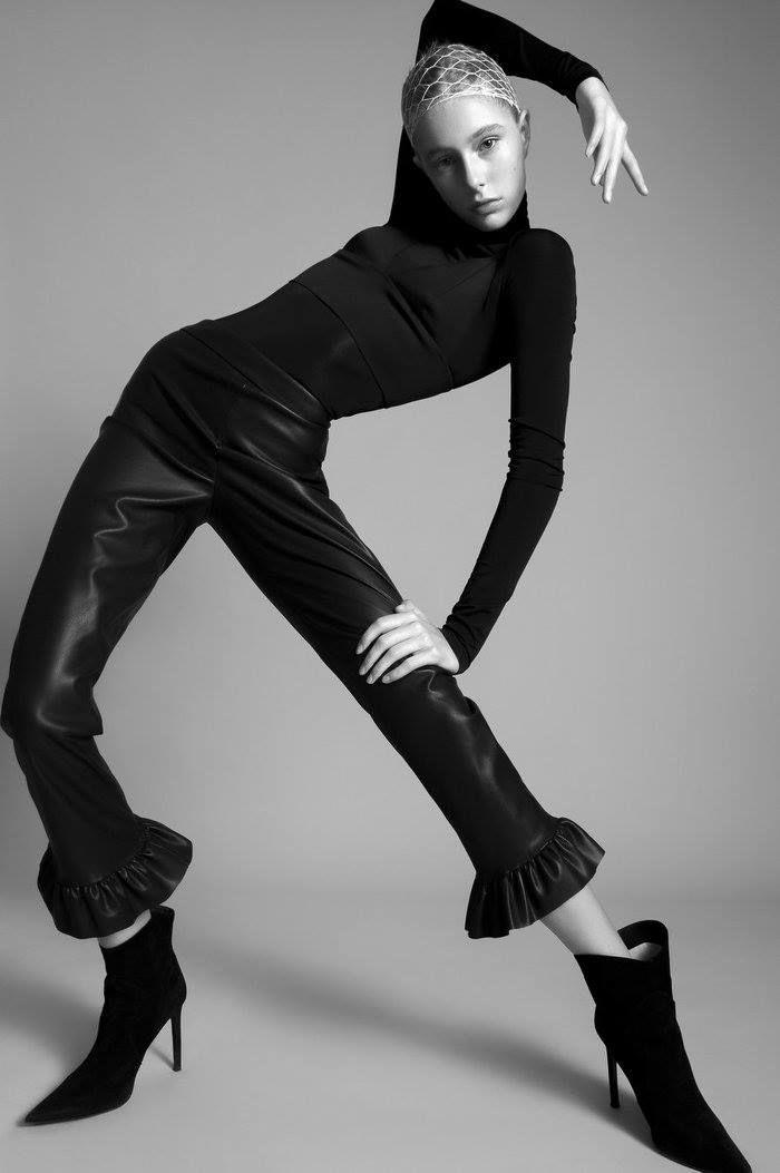 Photographer: Oleg Borisuk Stylist: Bognár Hajnalka Model: Jazmin/Visage Model Management Makeup Artist: Schmíz Ágnes