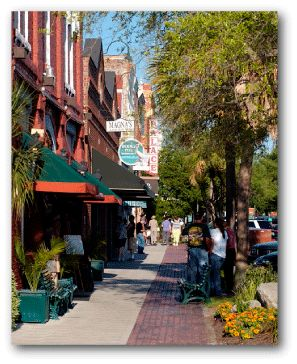 Amelia Island, Florida ~ Fernandina Beach is a quaint old town in the northeast corner of the state. The ocean & the river are there & a lot of Victorian homes.