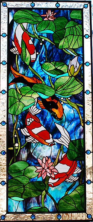172 best vitrail fonds marins images on pinterest for Stained glass fish patterns