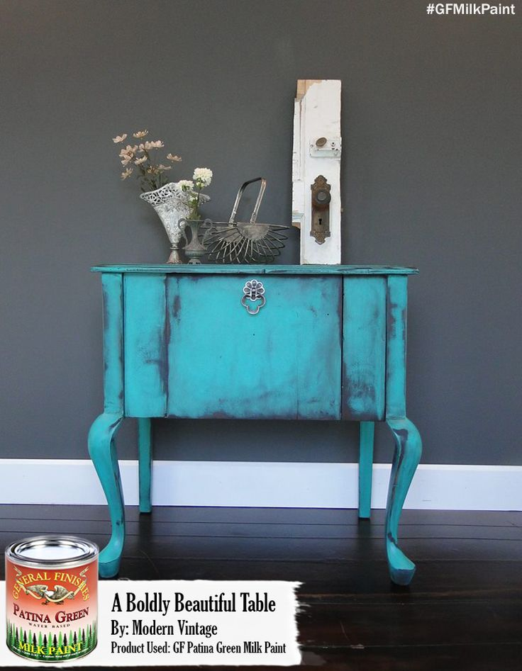 Patina Green Milk Paint Is Definitely One Of Our Most