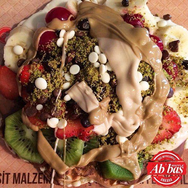 Keyifler yerinde! O zaman haydi waffle yemeye! #AbbasWaffleAnkara