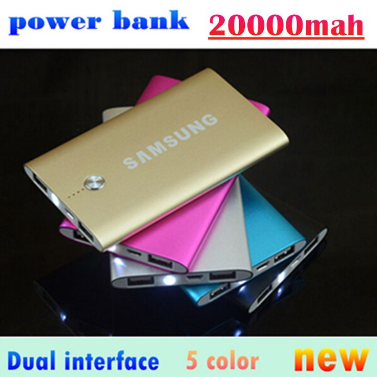 Real Capacity 20000mAh Power bank Portable Charger External Battery baterias externas mobiles phone For Xiaomi Samsung