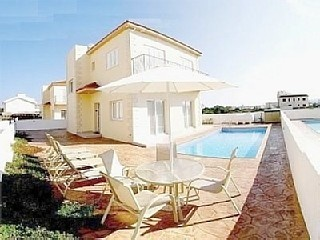 Cyprus Kapparis Prestigious, Luxury, 3 bed Villa, Private pool, Nintendo WII 8persons - from 600e to 900e/per week - 800m to the beach