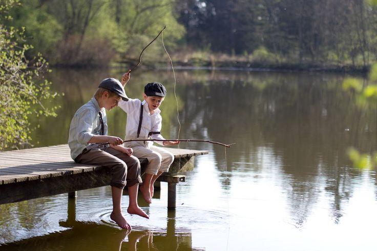 little boys and big fishes by riskonelook.deviantart.com on @deviantART