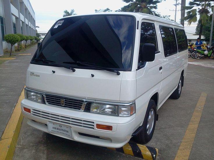 Nissan Urvan 2012 Van Seating Capacity 15 Pax Rental