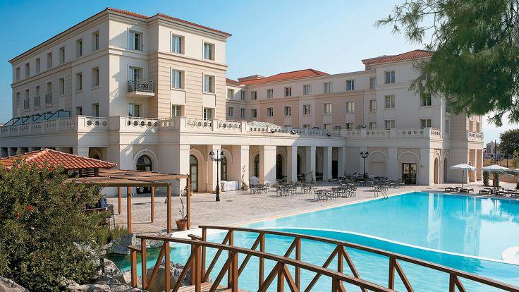 Luxury hotel in Larissa, Larissa Imperial in Larissa    #luxuryhotel  #luxuryresort  #grecotel