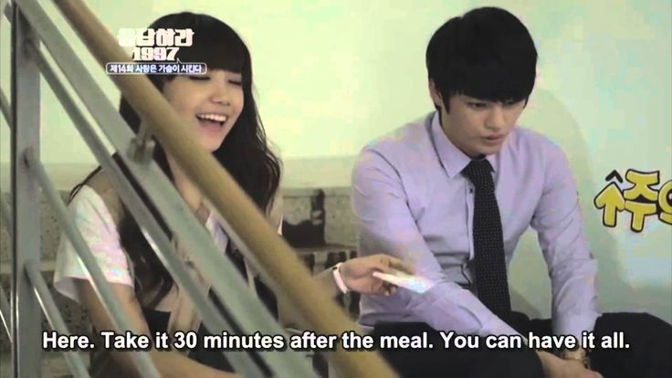 [ENG SUB] Reply 1997 - Stairs kiss scene