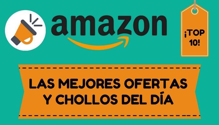 ¡SUPER CHOLLOS Y OFERTAS DEL DÍA EN AMAZON! Lunes 23 de enero de 2017  ¡Buenos días SuperCholleros! Nos complace anunciaros nuestra nueva sección de Super Chollos y Ofertas del día en Amazon. Cada día recopilaremos a primera hora de la mañana los 10 mejores chollos flash de Amazon y os los mostraremos todos juntitos en un artículo como éste. ¿No es genial? Por si n...