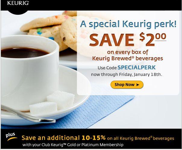 keurig com coupon