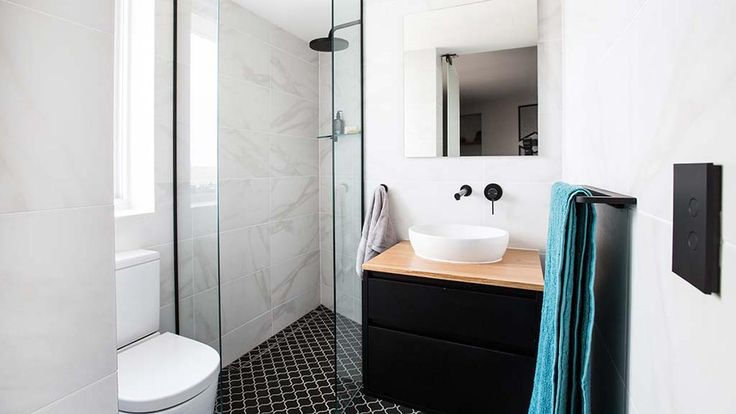 Ebony And Luke S Stylish And Modern Bathroom With Alot Of