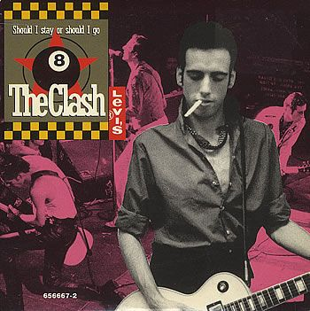 "For Sale - The Clash Should I Stay Or Should I Go UK  CD single (CD5 / 5"") - See this and 250,000 other rare & vintage vinyl records, singles, LPs & CDs at http://eil.com"
