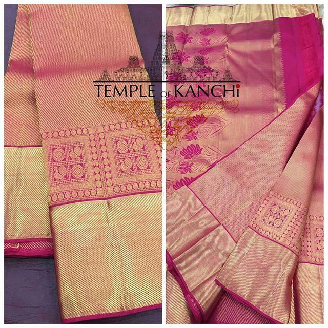 south indian sarees pink - Google Search
