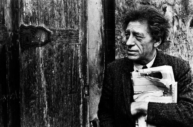 Аlberto Giacometti by Henri Cartier-Bresson
