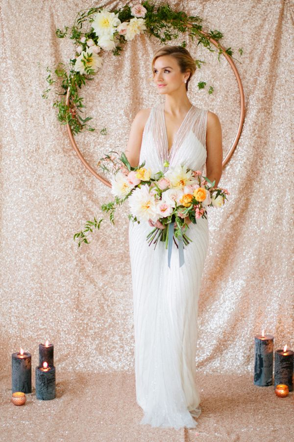 Mint and Rose Gold Wedding Inspiration by Minted | Betsi Ewing | See more on My Hotel Wedding: https://www.myhotelwedding.com/blog/2016/04/18/mint-and-rose-gold-wedding-inspiration-by-minted/