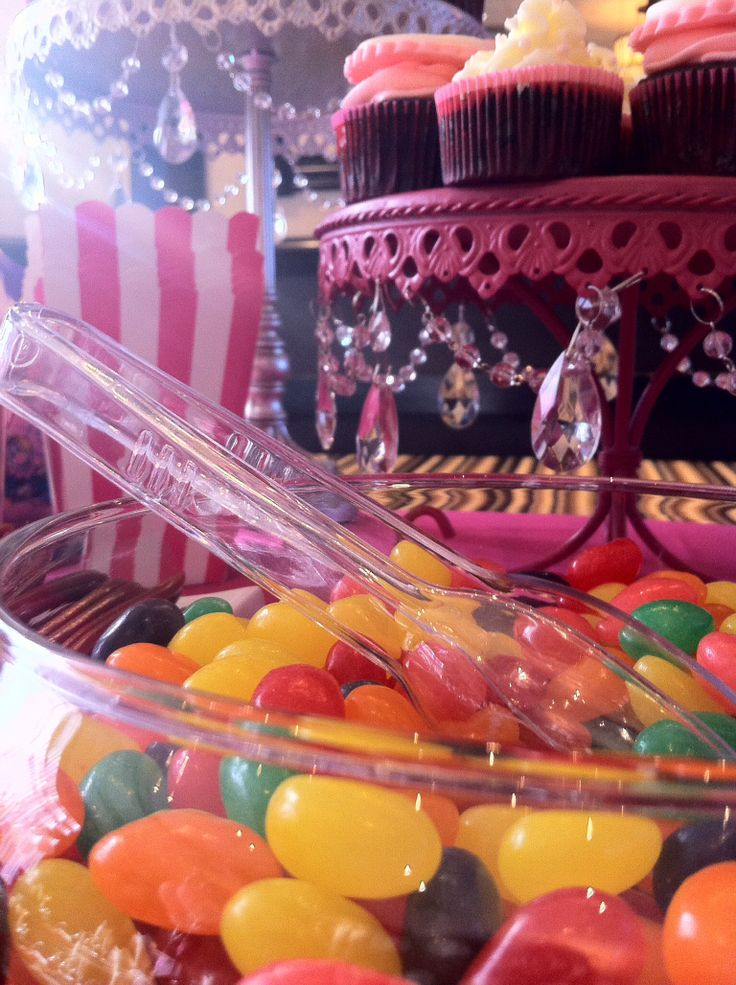 Candy bar -colourful -jelly beans