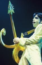 Prince performing on stage for The Ultimate Live Experience concert at Wembley Arena. Picture: Mick Hutson/Redferns