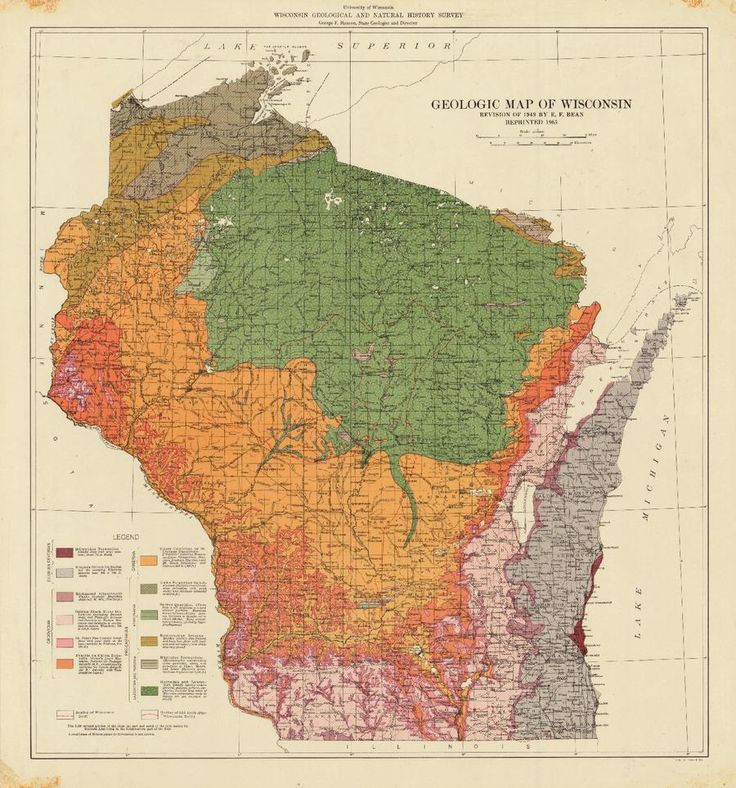 WI Geological Survey on 47 best maps