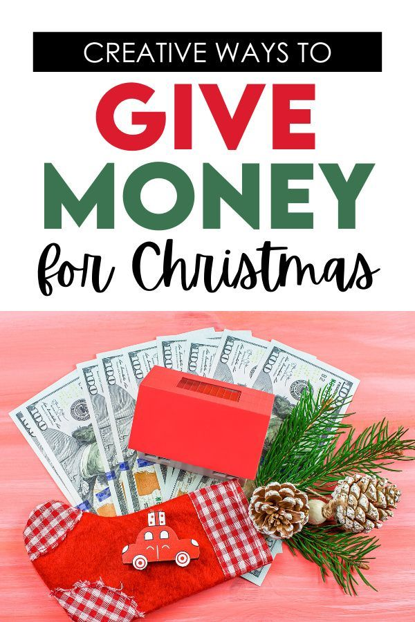 Money Gift Ideas for Christmas | The Dating Divas in 2020 | Money