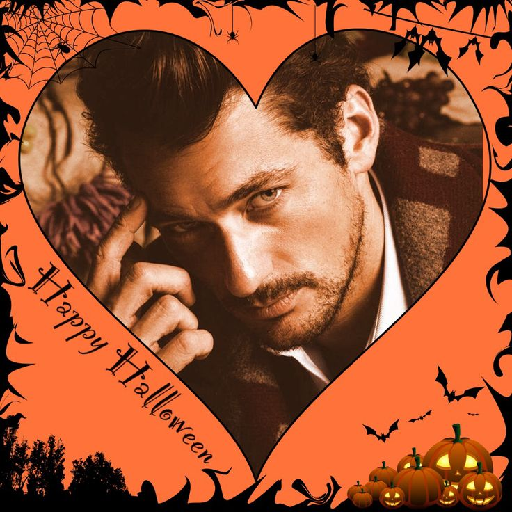 David Gandy for Halloween !