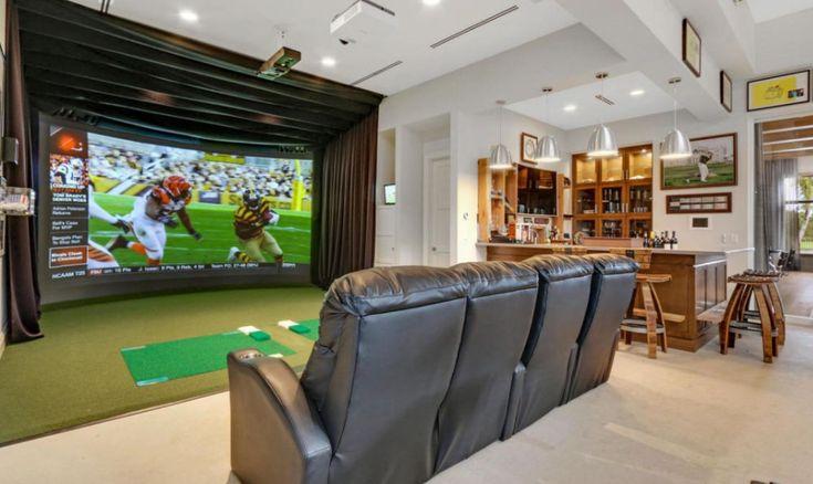 Media/Golf Simulator Room