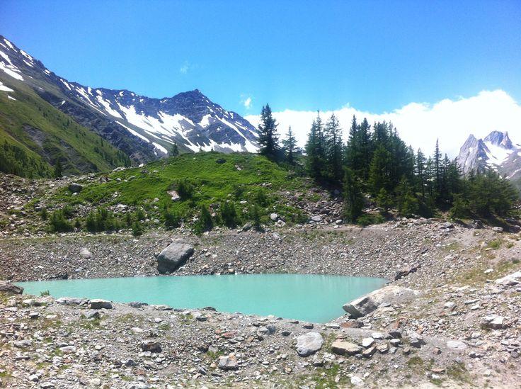 Lago Mirage Val Veny