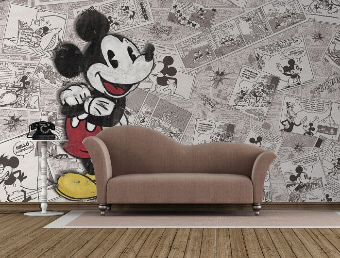 Giant Size Wallpaper Mural For Girlu0027s And Boyu0027s Room. Mickey Mouse Disney  Comicsu2026 Part 46