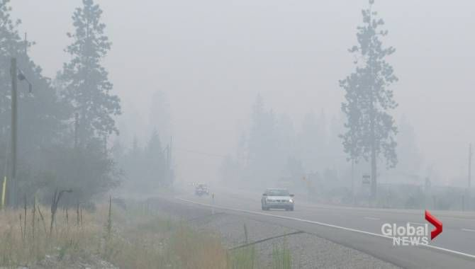 Stickpin fire in Washington State only 4.5 kilometres from B.C. border | Globalnews.ca