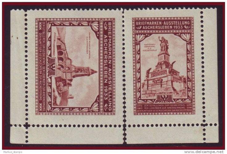 Germany 1933 - Expo Aschersleben labels
