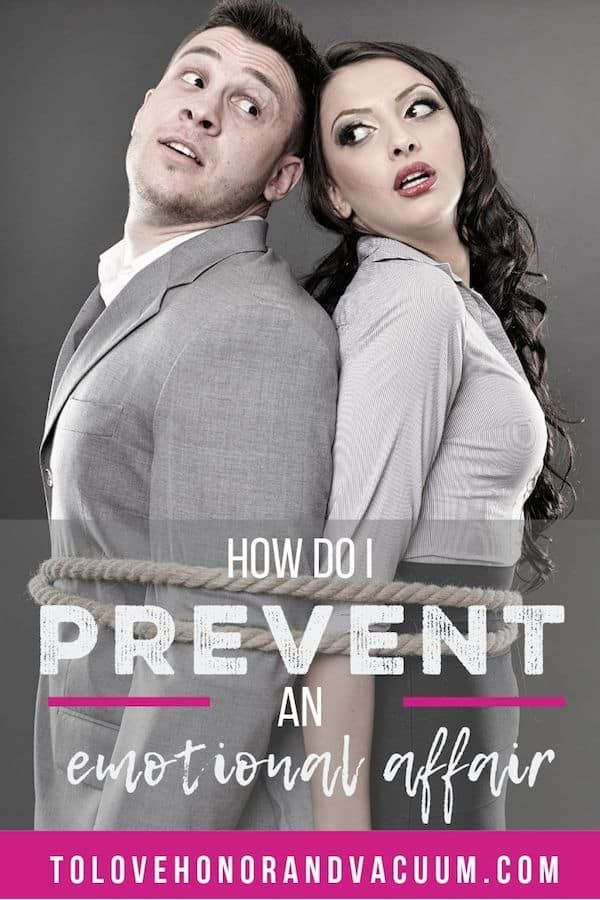 How to prevent an emotional affair--and how to get attraction under